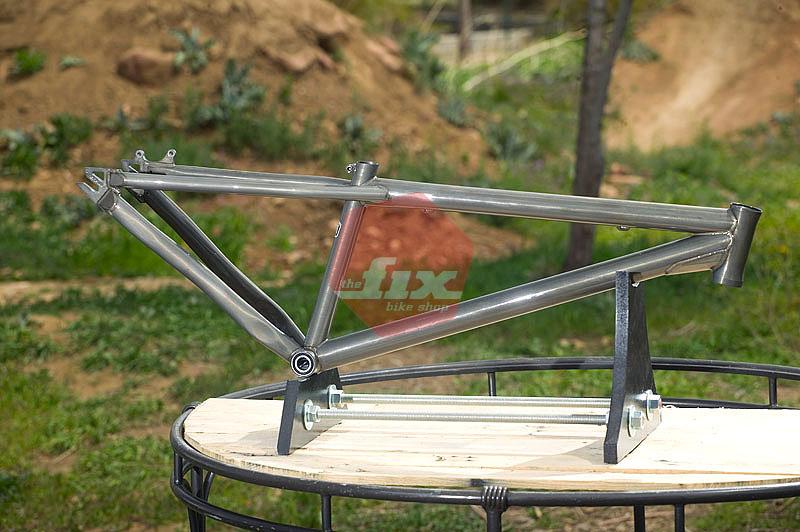 top frame detail11 - Dirt Jumper Frame